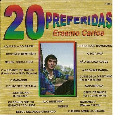 ERASMO CARLOS - 20 PREFERIDAS