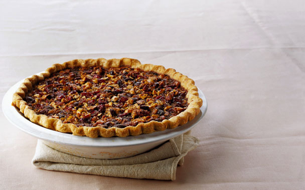 Maple Nut Pie (with Maple, Walnuts, Hazelnuts, and Dried Cranberries ...