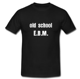 Old school EBM T-shirt
