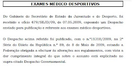 Exames Médicos 09/10