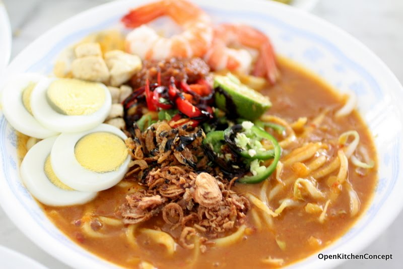 Open Kitchen Concept: Homemade Mee Rebus - Finishing Off