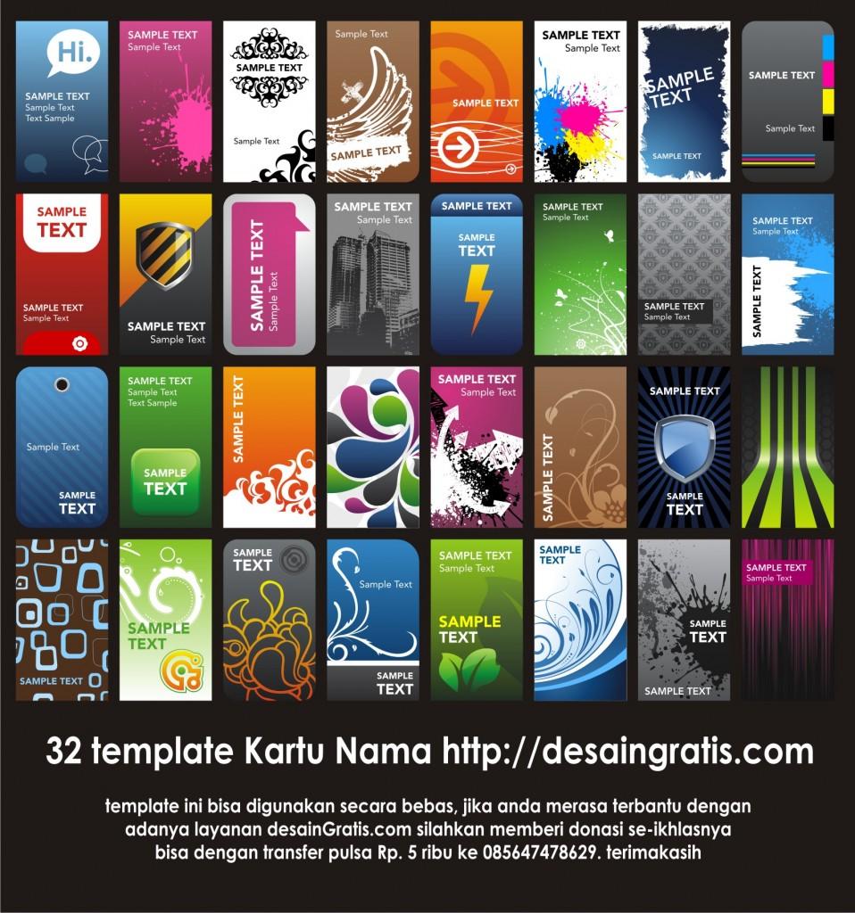 Template Desain Kartu Nama Munyie Pictures
