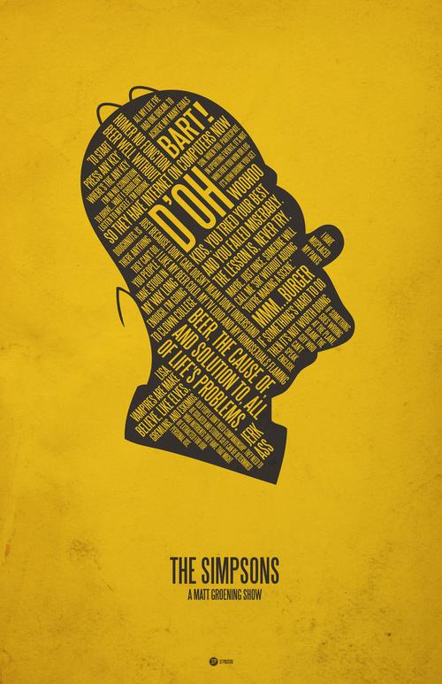 Muito L'Hippopotame: Posters de filmes - Parte V - Minimalistas PN59