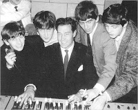 Norman Smith with the Beatles