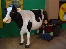 Me, milking the cow.