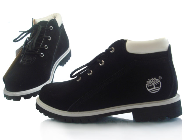 black timberland boots low top