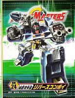 Robot Masters Reverse Convoy