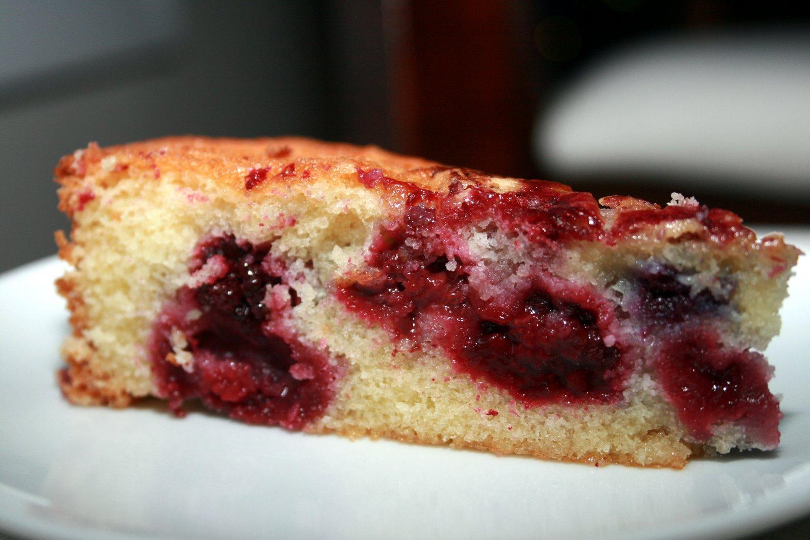 Blackberry Thyme Kuchen