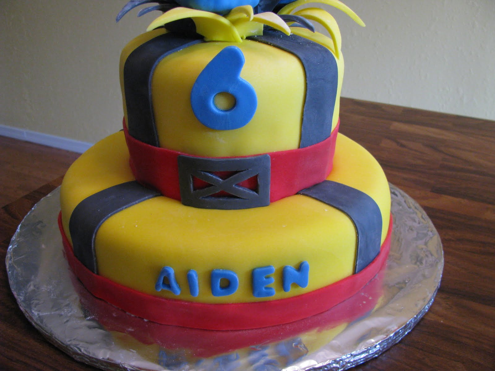 Cakes By Kim Wolverine Birthday Cake