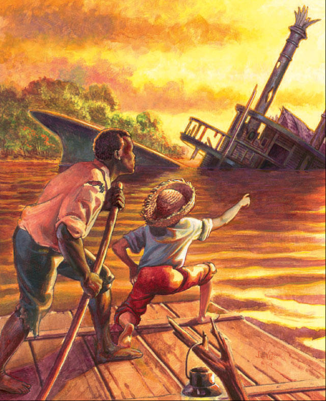 The Adventures of Huckleberry Finn is one of my favourite books.