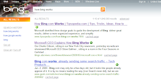 Bing! Microsofts New Search Engine