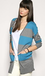 Bold Blue Cardigan