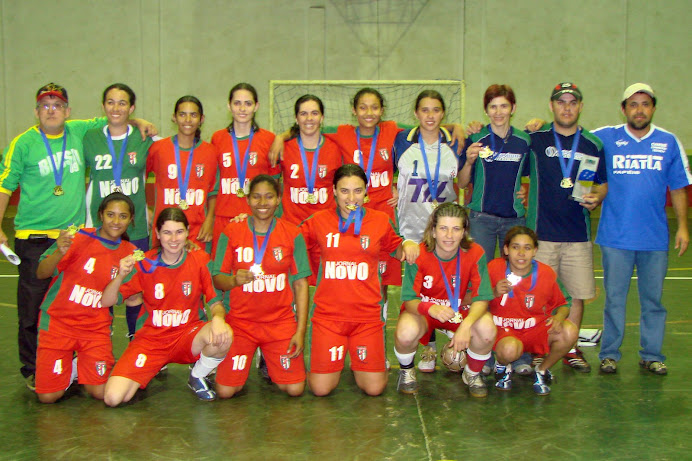 EQUIPE CAMPEÃ DOS JOGOS ABERTOS REGIONAIS (BANDEIRANTES)2007