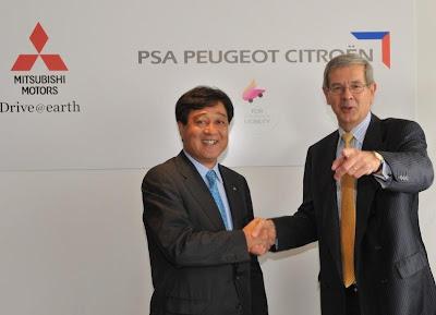 PSA и Mitsubishi