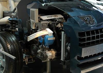 Гибридный двигатель HYbrid4