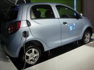 Китайский электромобиль Chery Riich M1-EV