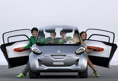 Концепткар Peugeot BB1