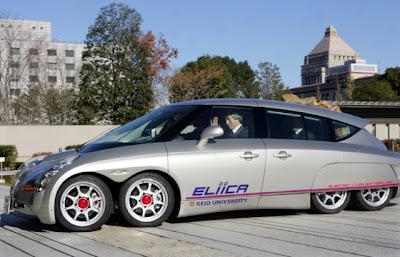 Самый быстрый серийный электромобиль Eliica