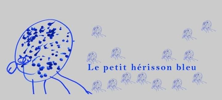Le Petit Hérisson Bleu