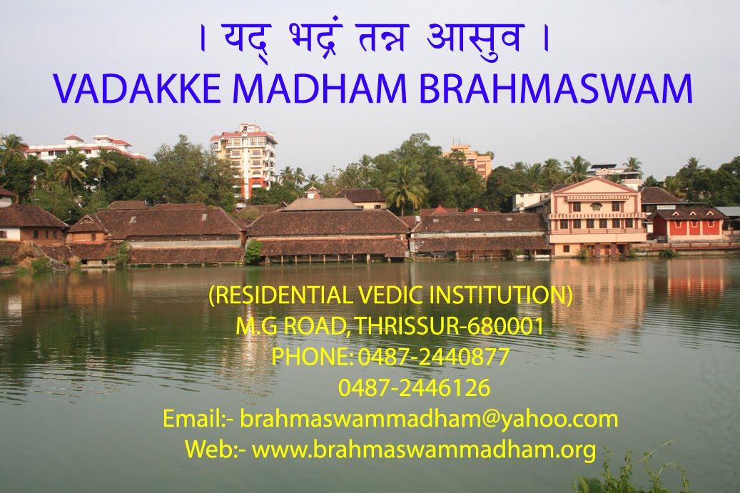 VADAKKE MADHAM BRAHMASWAM