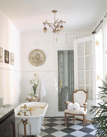 Fru vilmas hus oj vi ska tydligen bli med badrum for Bathroom new orleans
