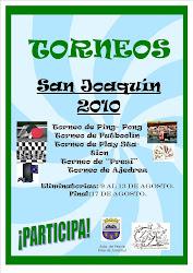 """TORNEOS """"San Joaquín 2010"""""""