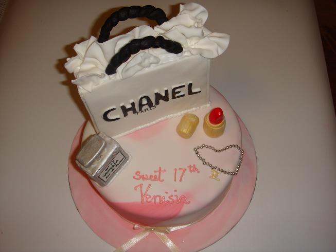 Margs Kitchen 17th Birthday Cake