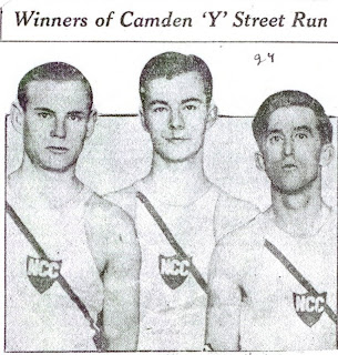 Winner John Glazer on left, 1928
