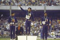 Victory stand 1968 Olympics