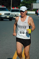 Runner, Rowan U Mathematics Prof Tom Osler