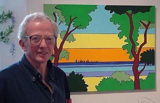 Artist Hal Higdon