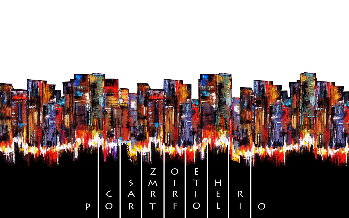 cover page for professional portfolio