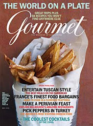 Gourmet Magazine - Gourmet Magazine closing