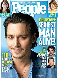 Johnny Depp - Sexiest Man Alive 2009