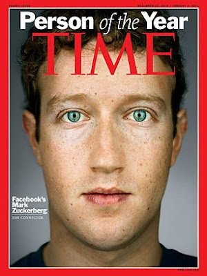 2010 Time Person of the Year, Mark Zuckerberg 2010 Time Person of the Year