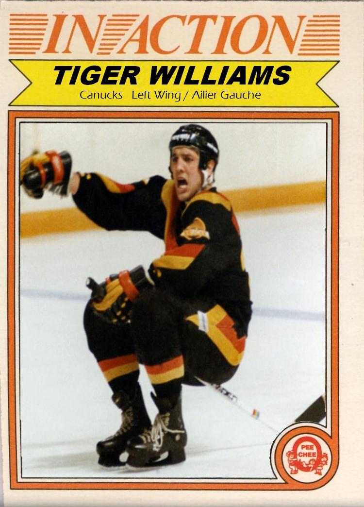 Tiger Williams Net Worth
