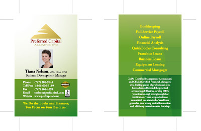Business Name Card Design