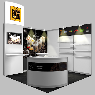 Exhibition Stand Booth Design - Coffeeland