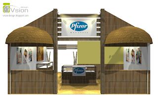 Pfizer Exhibition Stand Booth Design