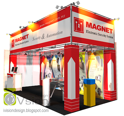 Exhibition System Booth Display Design