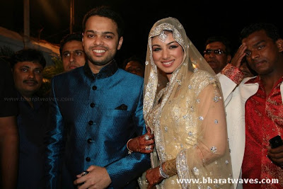 Ayesha Takia Wedding Pictures on Beautiful Ayesha Takia Wedding Reception Pictures   Hot Bollywood