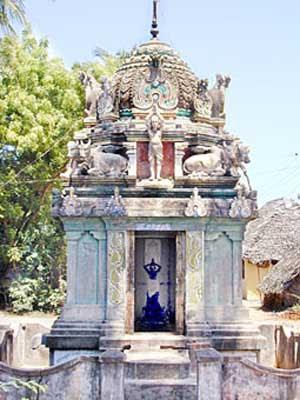 Sivalokanathan Temple ( Nandanar Temple ) - Thirupungur
