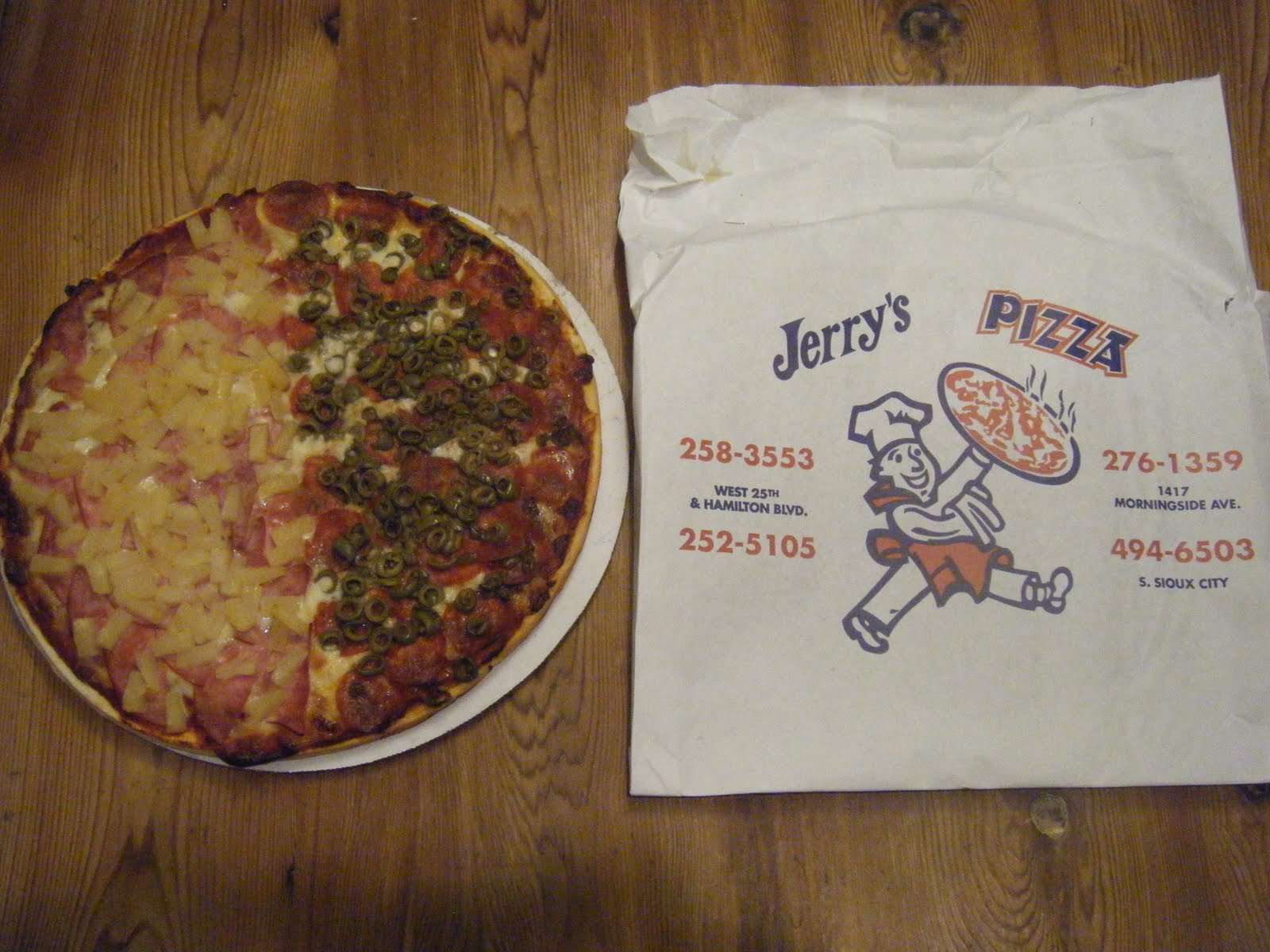 you go girl jerry s pizza