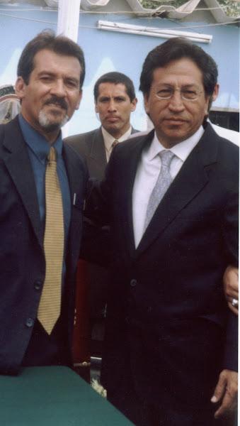 Presidente de la Republica y Presidente de A.S.P.