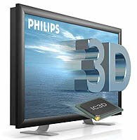 Philips 3D TV screen