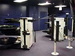 IMAX3D projection booth