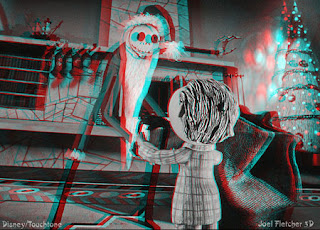 A Nightmare Before Christmas 3-D anaglyph still