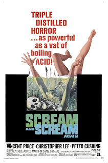 scream and scream again movie poster