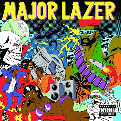 major lazer, cover
