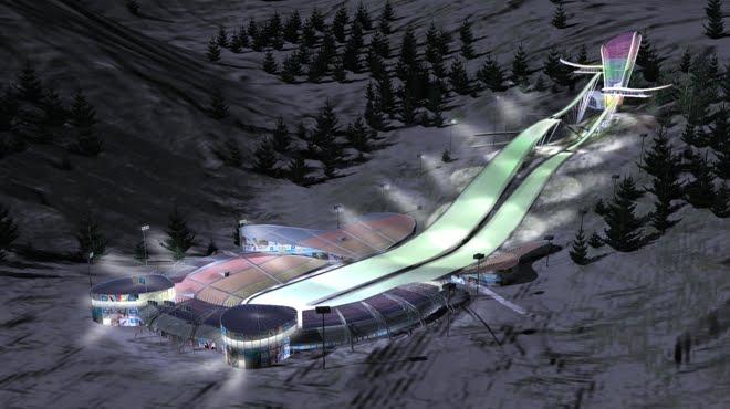 sochi 2014, ski jumping centre